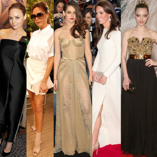 Designer dresses on celebs