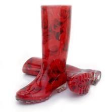 Fulton's rose print wellington boots £25