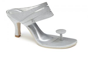 Maria Oliveira Deltota sandals in silver £65