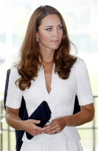 Kate Middleton in understated classic style