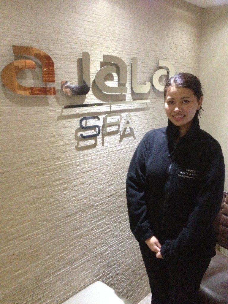 Umarin - my lovely Therapist from Ajala Spa
