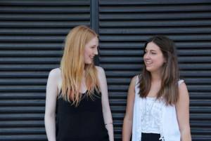 Emily Hodgson and Emilie Riis