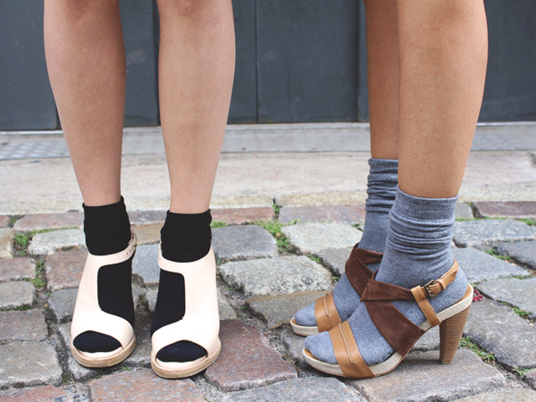 Socks and sandals - not a great llok in my books