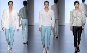 Male models in meggings