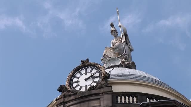 Top of the Liverpool Town Hall