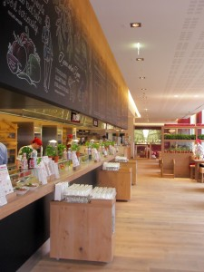 Vapiano serving area