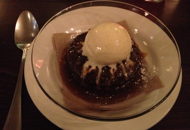 Sticky toffee pudding @ Bumpkin
