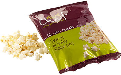 Diet Chef sweet and salty popcorn