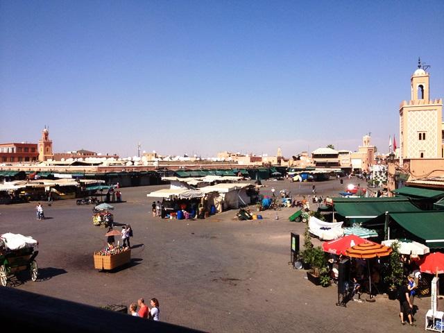 The Medina - quiet during Eid