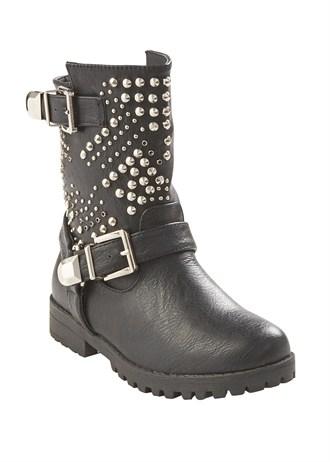 Matalan studded biker boots
