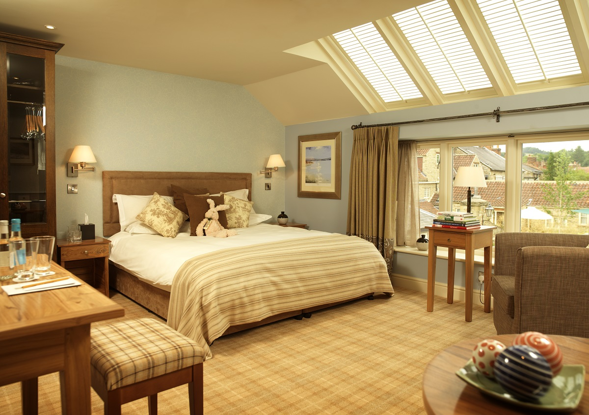Bedroom at Pool side at Feversham Arms Hotel and Verbena Spa