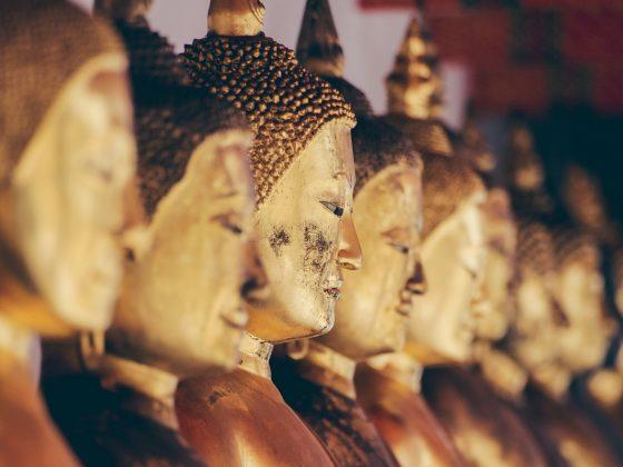 Golden Buddhas
