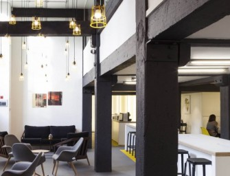 Digital Nomad: The Black & White Building, Shoreditch