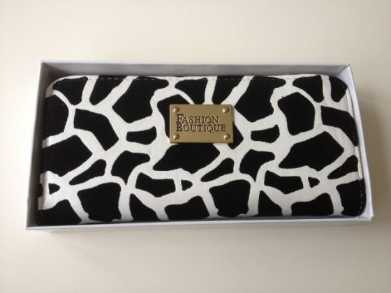 Tiny Monochrome Clutch Bag £20