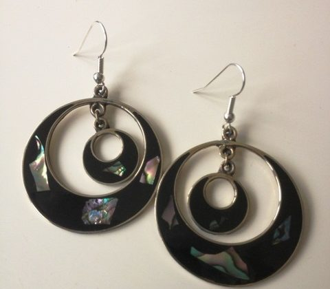 Mexican Circle Earrings £12