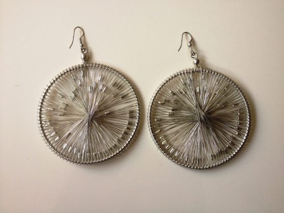 Starburst earrings £10