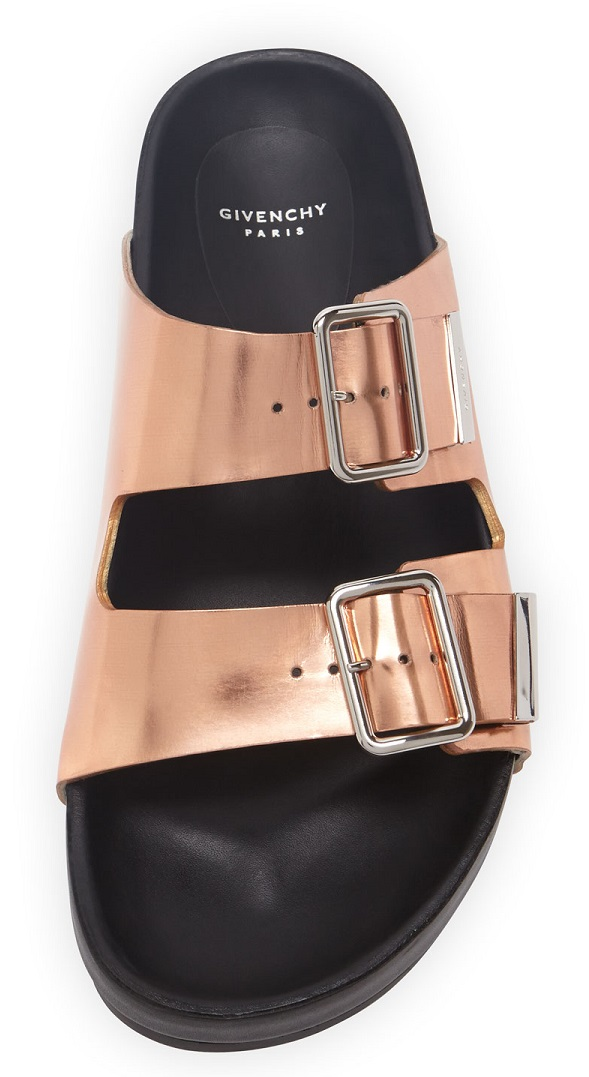 Givenchy double strap sandals