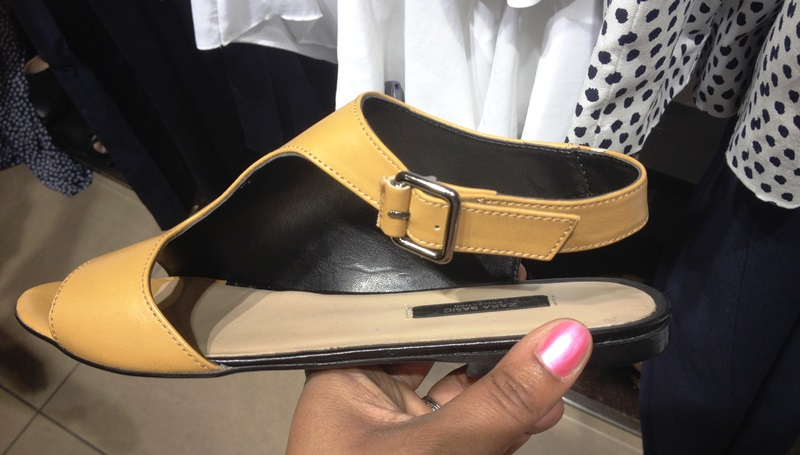 H&M wrap around sandal