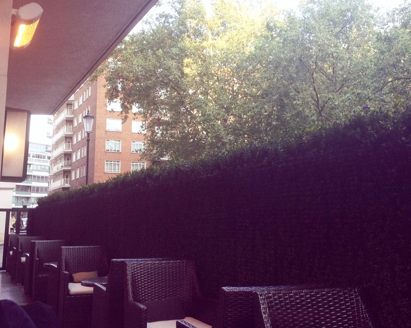 The Rib Room terrace