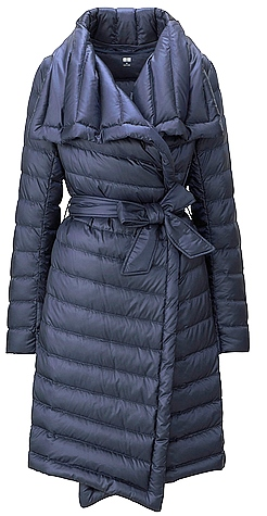 Uniqlo ULD wrap coat