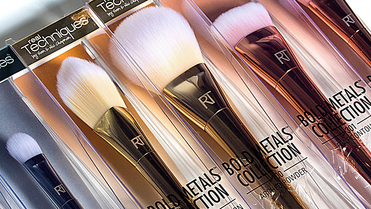 Bold Metals Brushes in Packaging