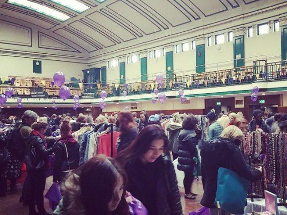 Market shoppers