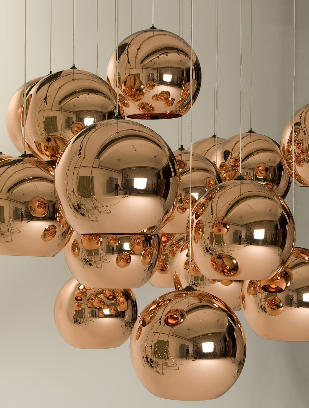 Tom Dixon Copper Shades