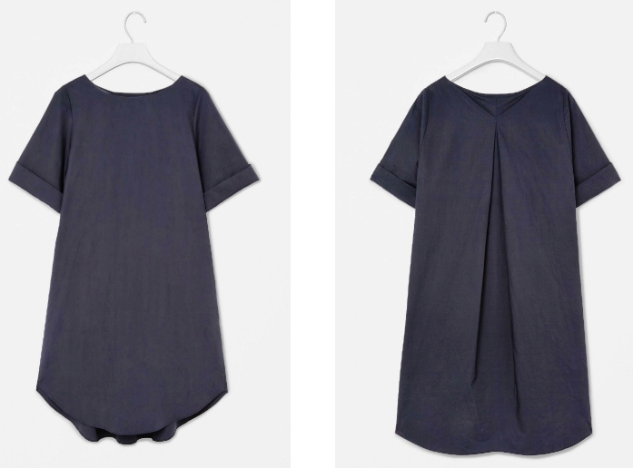 COS dress front and back