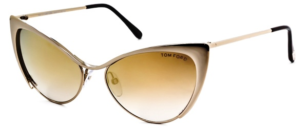Tom Ford glasses in cat eye shape