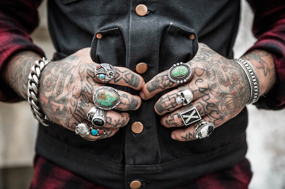 Rings and tatoos
