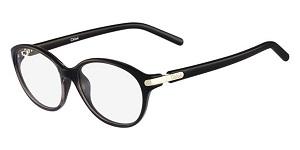 Black Chloe circular frames