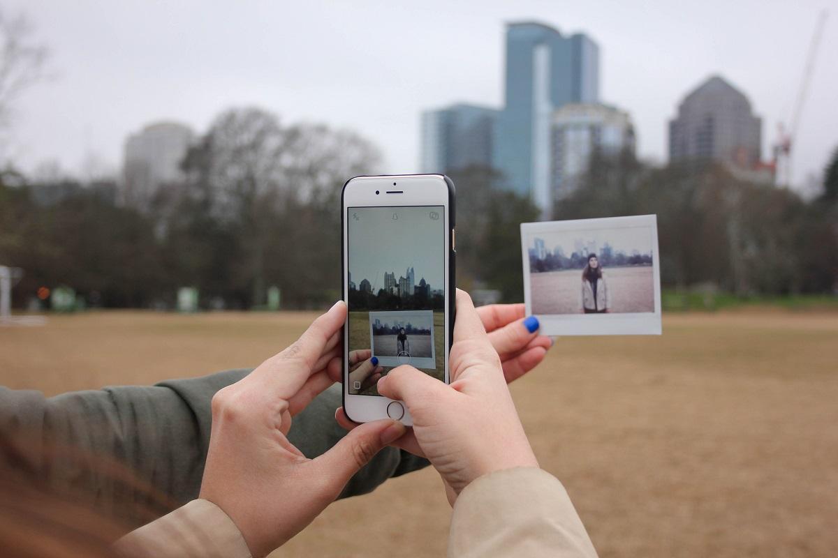 Social media Instagram images