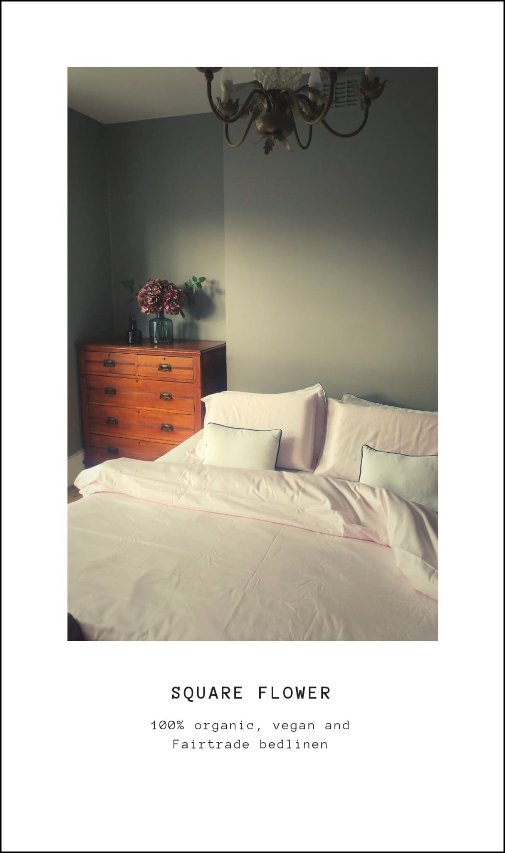 Square Flower bedlinen