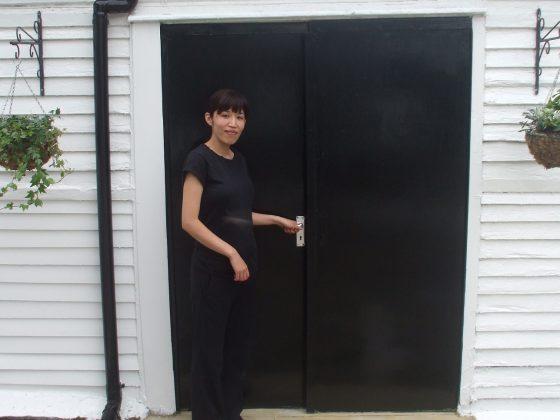 Emi Hojo outside of her salon