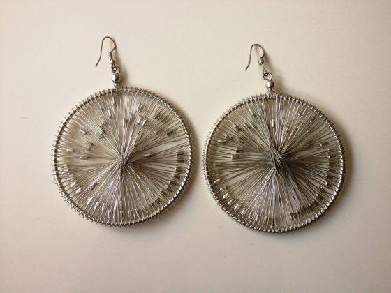 Starburst earrings £10