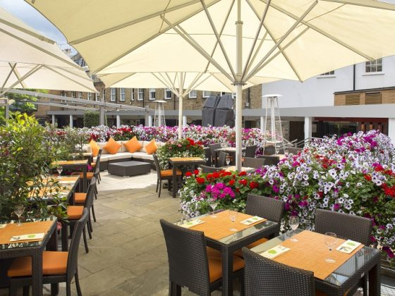 The Terrace at Jumeirah Lowndes Hotel
