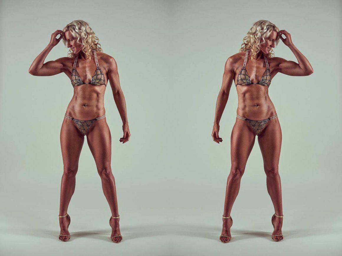 Claire Lawrence in bikini photoshoot